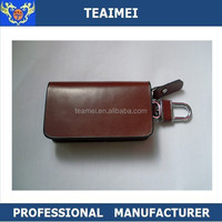 Customized Real Leather Car Logo Key Cover Case