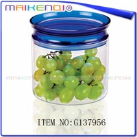 High quality colorful kitchen canister set