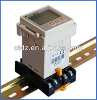 Din rail thermometer