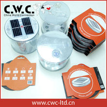 2014 Christmas promotion solar Lantern for Camping