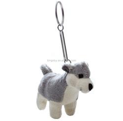 2 hours replied mini plush dog keychain toys stuffed animals for sale