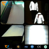 Elastic reflective lycra fabric for jacket, sportswear, t-shirt