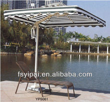 hot sale sunshine lounger chairs outdoor rattan recining chair YPS061