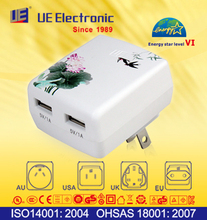 Quick delivery good quality universal application portable USB charger Energy Star Level VI