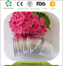 2015 Newly recyclable aluminum foil mini cake packaging