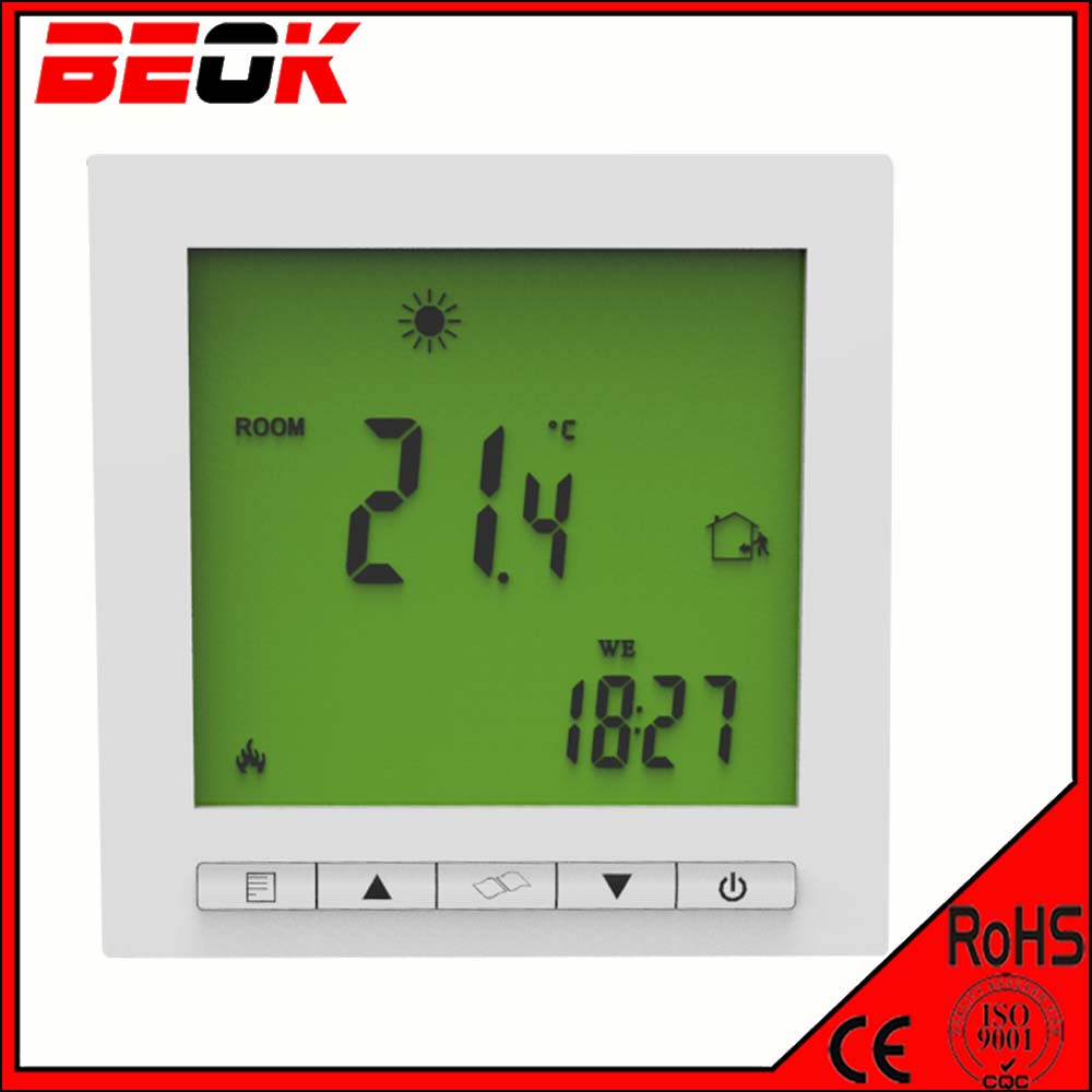 Top sales radiant central heating thermostat for floor Best central heating system