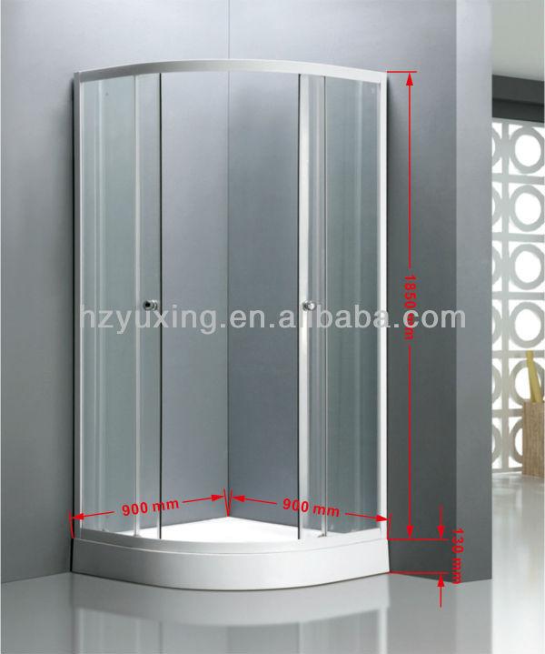 حار بيع في دبي وأقل انزلاق دائم دش الزجاج الضميمة/ غرفة الاستحمام mv-- a1988 مع اوربا