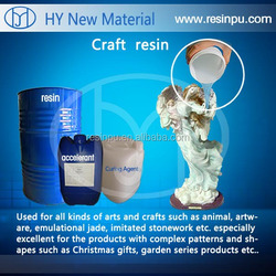 Liquid crystal clear polyester resin