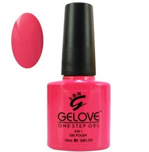 IBN one step led nail gel polish, put your own logo with your own bottle style
