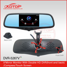 auto dimming rearview mirror China supplier for peugeot