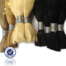 japanese kanekalon fiber synthetic golden hair bulk