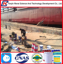 New-type self polishing special boat hull paint