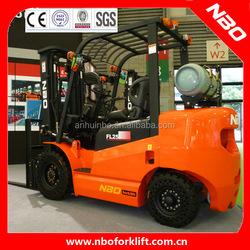 NBO 3 ton new LPG Forklift as toyota forklift quality