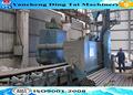 Tubo de acero granallado máquina / arena equipo de chorro