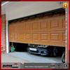 torsion spring balance system residential garage door,cheap PU panel garage door sales
