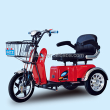 2015 China Hot Comfortable Popular 2 Person Three Wheel Electric Mobility Scooter for Adults