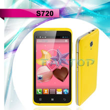 S720 Cheapest 4.5 inch Dual Core Dual Sim Card Mobile Phone