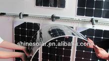 solar flexible panel ocean boat, marine