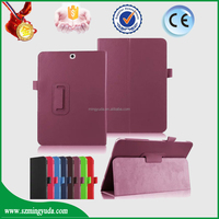 100%Product quality protect Folio Stand Flip Leather Case for Samsung Galaxy Tab S2 9.7 inch