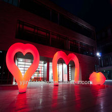 Red inflatable wedding decorations 2013