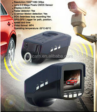 GOOD PRICE DVR 2.0 inch GPS G-sensor dvr + radar detector + e-dog camera car dvr