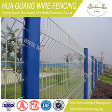 powder coated wire mesh fence (factory)
