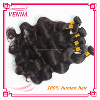 100% unprocessed charming virgin indian wavy hair extensions
