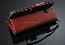 Luxury Card Slots Purse PU Leather Wallet Flip Stand Cover Case For ONE M8