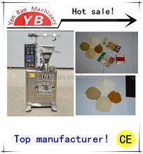 4 sides seal Factory price YB-150F Automatic splenda Powder,Spices/Powder Sachet Packing Machine