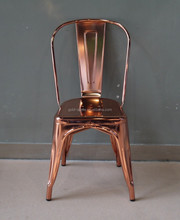 Rose Gold Metal Dining Chair, Wholesale Dining Room Chair
