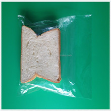 Hot sale packing bag biogradable plastic clear sandwich bags/food usage