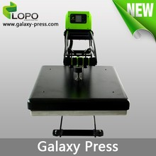 Galaxy heat press machine for t-shirt printing from Lopo
