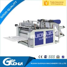 China manufacturer universal hot product plastic zipper grape bag making machine price