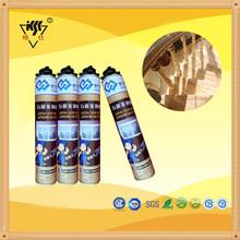 Gap filler 750ml PU foam Silicone Sealant