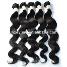 mixed 4 bundles or 3pcs lot virgin brazlian boby wave wholesale hair weave 100% unprocessed human hair