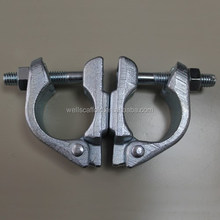 Scaffolding Coupler 48.3mm Zinc Plated Drop Forged Swivel Clamp