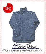 SUNNYTEX OEM 2014 Winter Clothes Outdoor Plain Varsity Jacket Wholesale