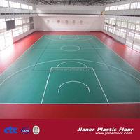 PVC Sports Flooring/Indoor Basketball Court Price