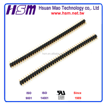 NEW HSM 2.54MM PIN HEADER SINGLE ROW H=2.54MM PRESS FIT TYPE CONNECTOR C2109