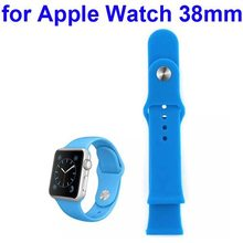 Wholesale Price Soft Silicone Strap Wrist Band for Apple Watch for Sports 38MM