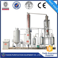 2015 green tech 10Tons continuous Waste Engine Oil Recycling To Diesel