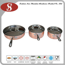 3Ply New style chinese look cookware