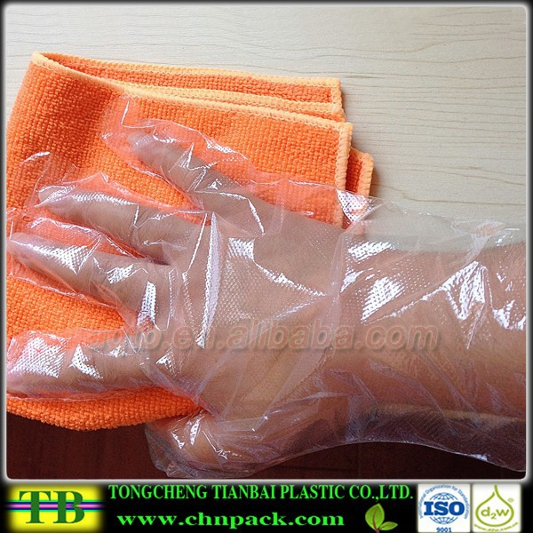 Food grade disposable waterproof fish cleaning gloves for Fish cleaning gloves