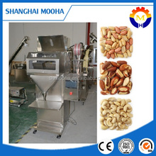PLC control professional dry seeds filling machine maximum 3000g