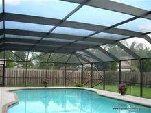 Swimming Pool Screen, Swimming Pool Cover Frames Enclosure Profiles