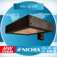 Free Samples Self Design New Style MW Driver 100w 120w 150w 200w 250w DLC UL Led Shoe Box Light, Shoe Box Light Fixture