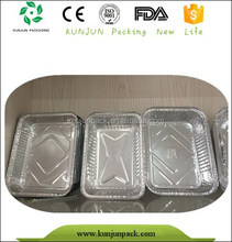 food grade aluminum material disposable box container