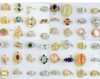New Design Ladies Finger Mix Gold Rings