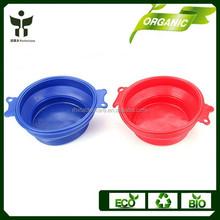 collapsile dog cat bowl portable animal travel feeding bowl