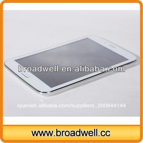 Nuevo 2014 mtk8312 diseño de doble núcleo dual de la tarjeta sim ranura 7.9 pulgadas 3g tablet pc con gps bluetooth fm